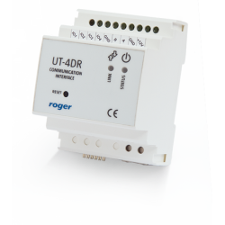 ROGER UT-4DR Interfejs RS485-Ethernet