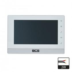 BCS-MONITOR WIDEODOMOFONOWY MON7200W-2W