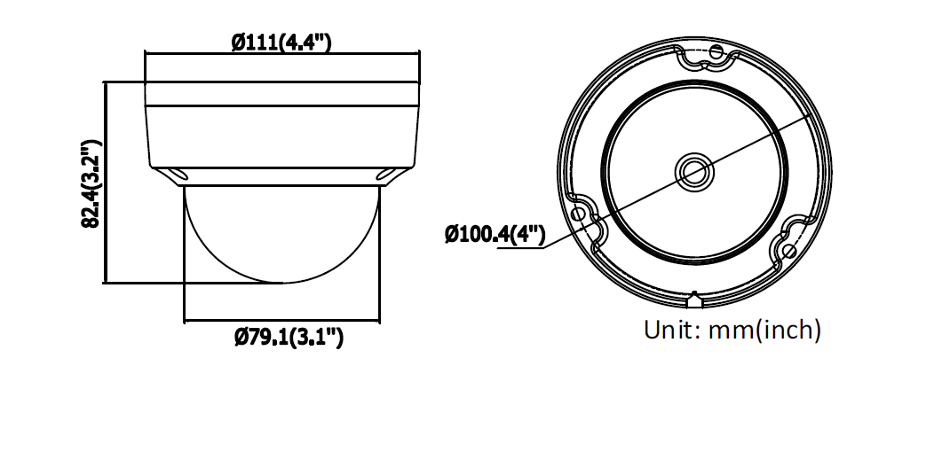 Kamera IP - DS-2CD2145FWD-I(2.8mm) - HIKVISION