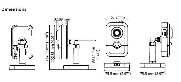 HIKVISION DS-2CD2423G0-IW (2.8mm) - KAMERA