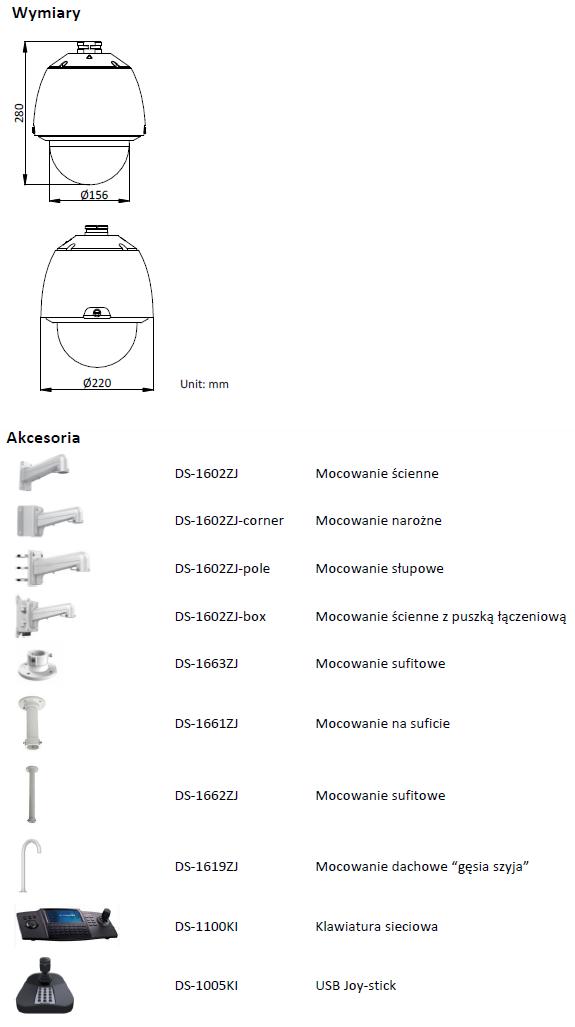 HIKVISION - DS-2DE5232W-AE - KAMERA