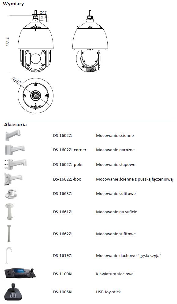 HIKVISION - DS-2DE7530IW-AE - KAMERA IP