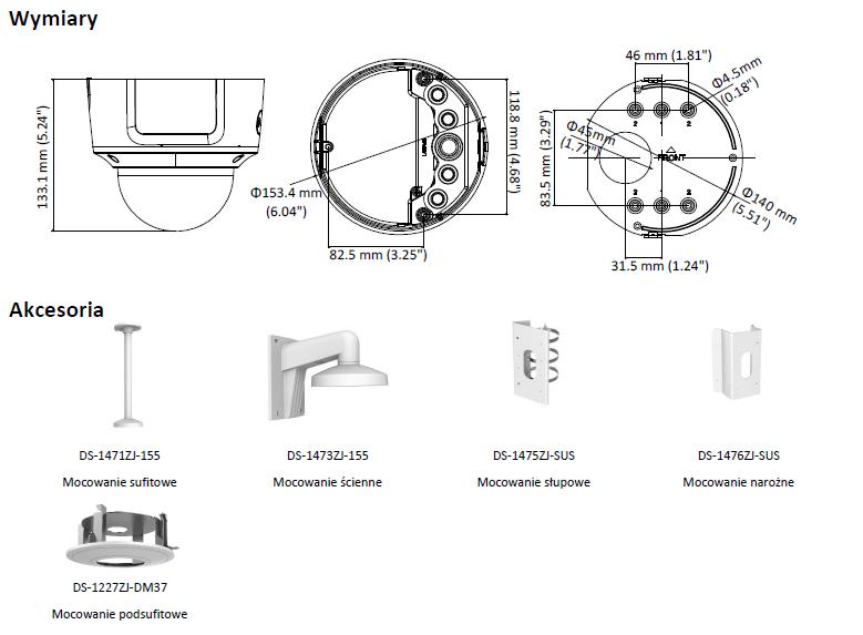 DS-2CD2723G0-IZS(2.8-12mm) Kamera Hikvision-L864-wymiary