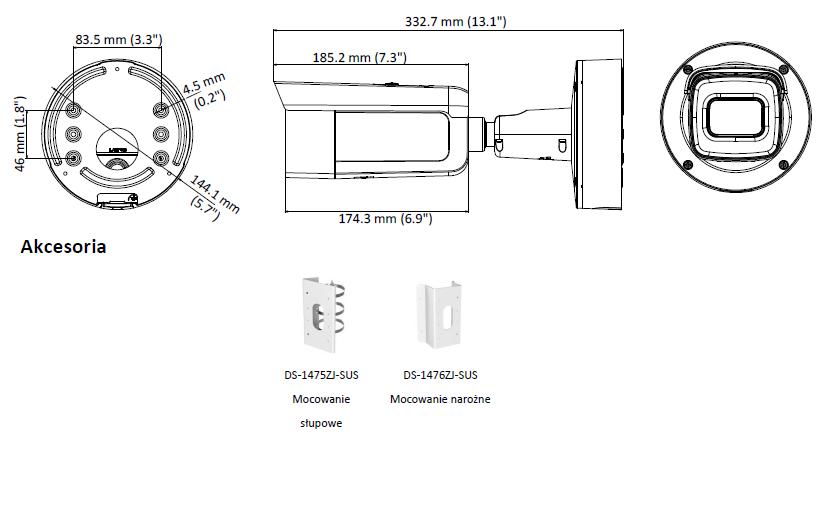 HIKVISION - DS-2CD2683G0-IZS(2.8-12mm) - KAMERA-L873-wymiary