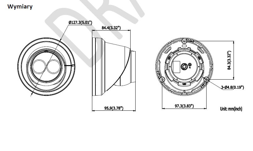 Kamera IP DS-2CD2325FWD-I (2.8mm) HIKVISION