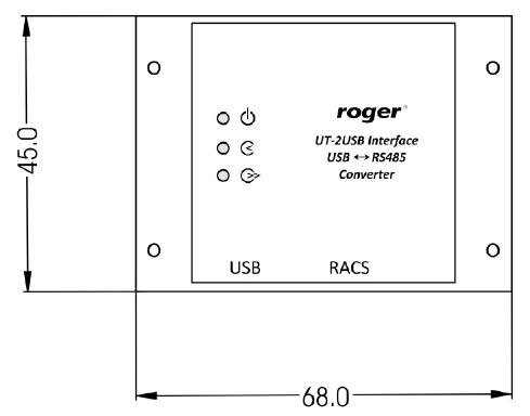 ROGER Interfejs USB-RS485 UT-2USB