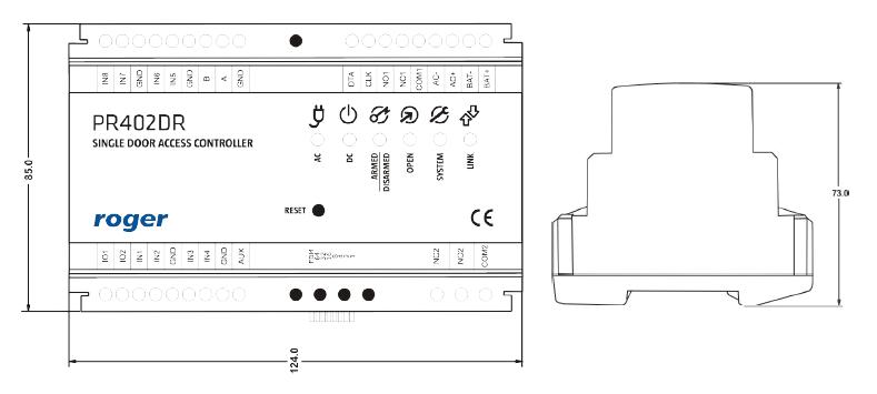 ROGER Kontroler dostępu PR402DR
