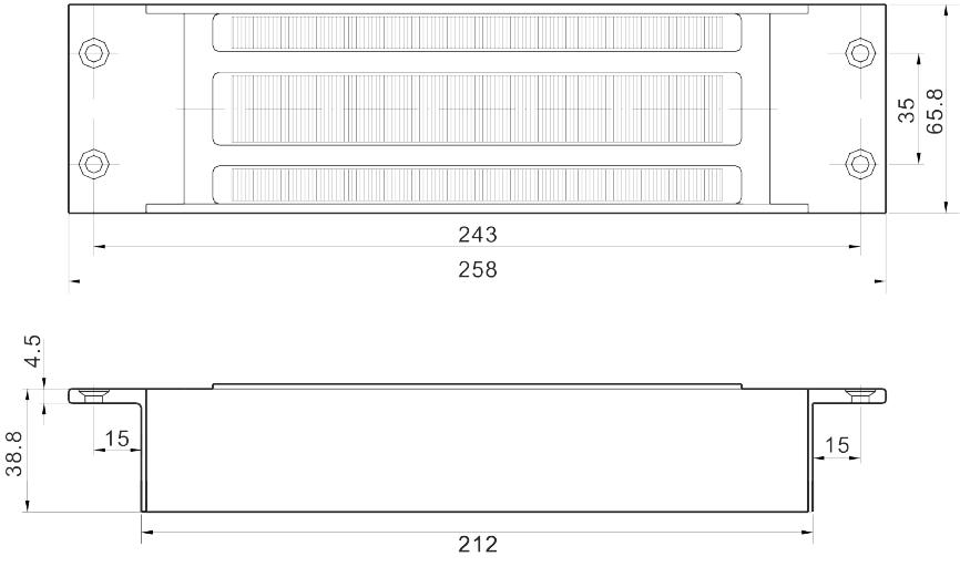 SCOT ZWORA ELEKTROMAGNETYCZNA WPUSZCZANA EL-1200MS