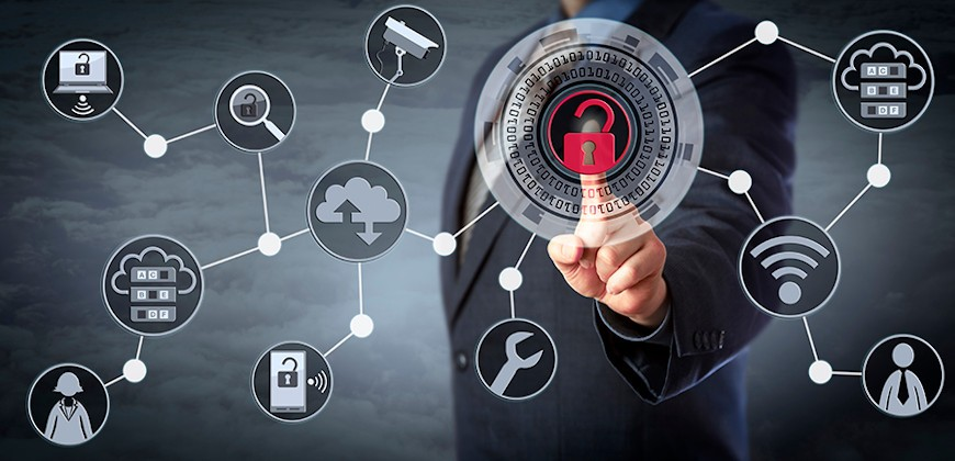 System kontroli dostępu, stanowiąc element elektronicznych systemów zabezpieczeń, jest doskonałym uzupełnieniem systemu sygnalizacji włamania i napadu.